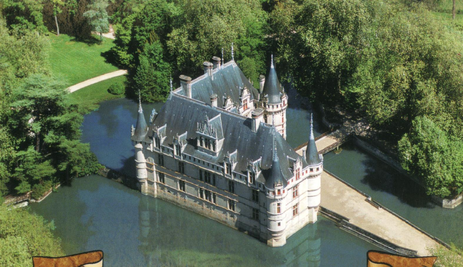 france indre et loire azay le rideau chateau. Black Bedroom Furniture Sets. Home Design Ideas